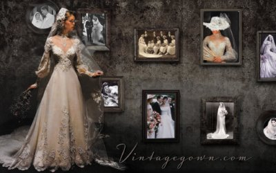 CHOOSING A VINTAGE WEDDING VEIL