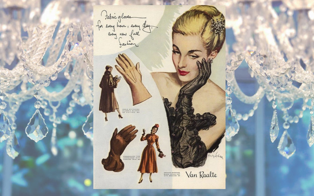 THE ETIQUETTE OF OPERA GLOVES - Vintagegown.com