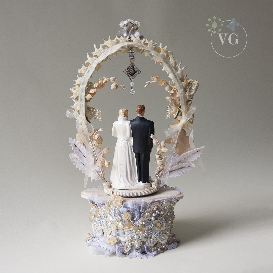 wedding cake makers central coast vintage 1952 coast novelty wedding cake topper 23126