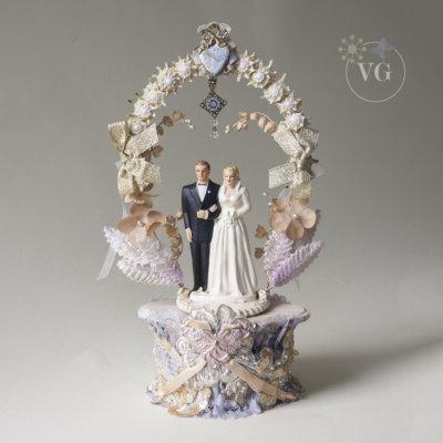 Coast Novelty Wedding Cake Topper