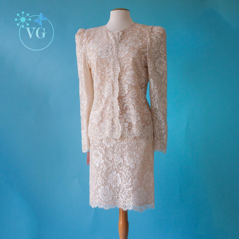 Celeste of Beverly Hills Wedding Suit - Vintagegown.com