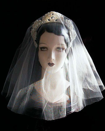 1940s_silk_tulle_blusher_veil